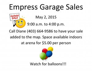 Empress Garage Sales