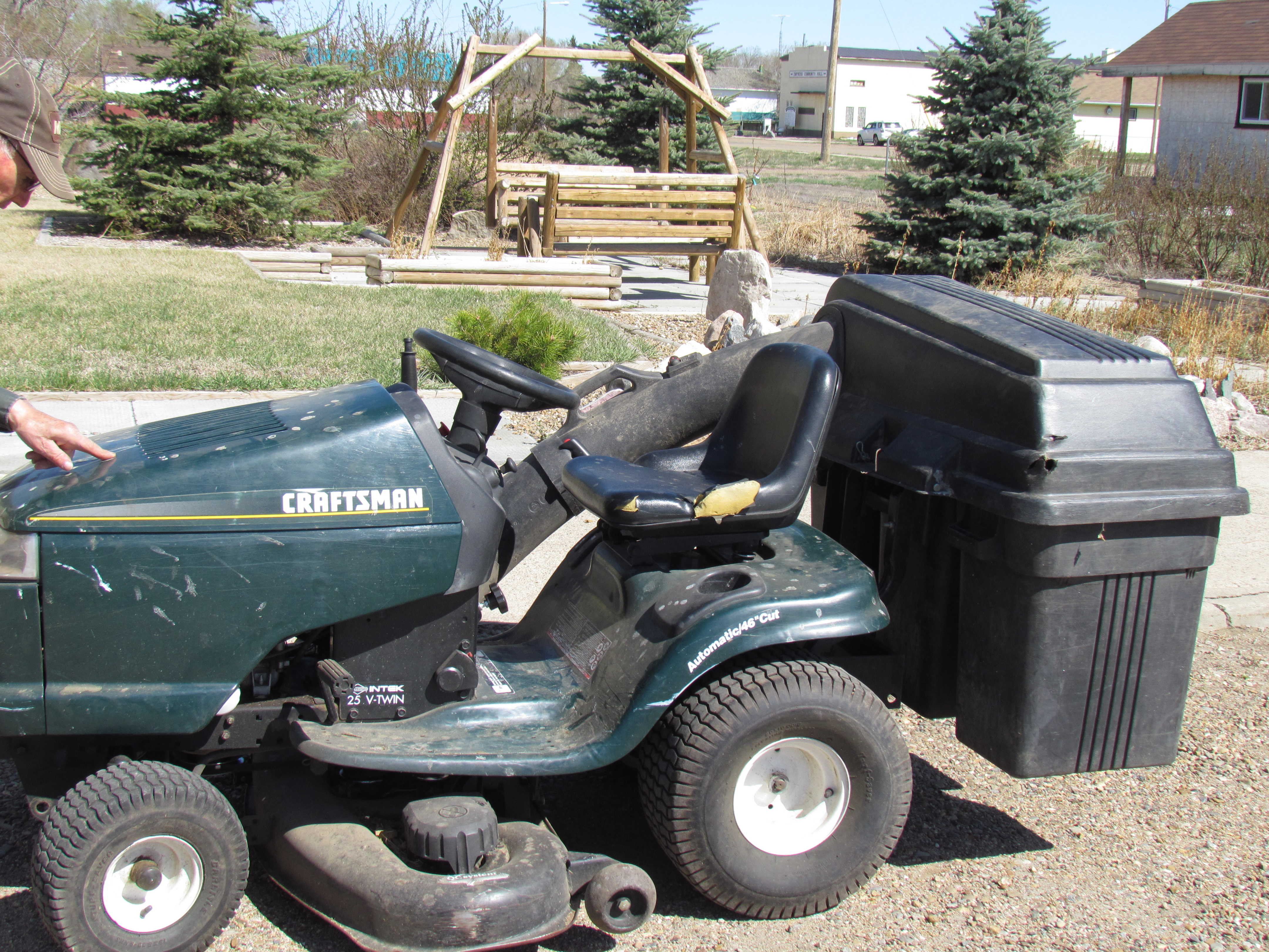 Items for sale village of empress for Sears garden tractor
