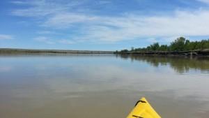 kyaking on the Red Deer River-2
